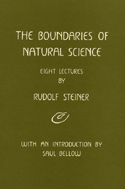 THE BOUNDARIES OF NATURAL SCIENCE
